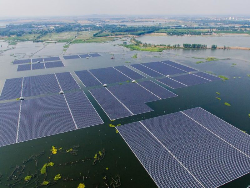Huainan's Floating Solar Farm, China