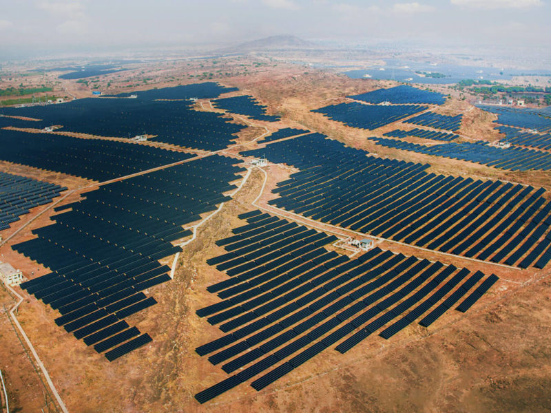 Kamuthi Solar Power Project, India